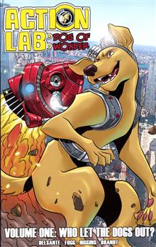 ACTION LAB DOG OF WONDER TP VOL 01 WHO LET THE DOGS OUT