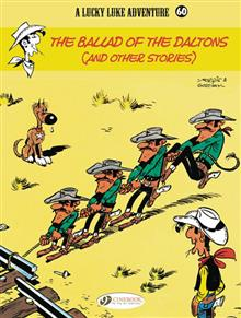 LUCKY LUKE TP VOL 60 BALLAD OF DALTONS