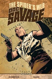 DOC SAVAGE SPIDERS WEB TP