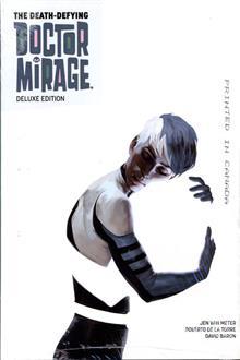 DEATH DEFYING DR MIRAGE DLX ED HC VOL 01