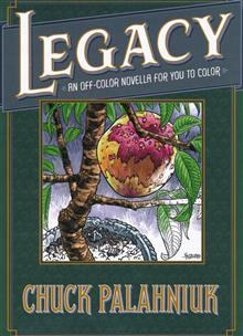 LEGACY OFF COLOR NOVELLA FOR YOU TO COLOR HC