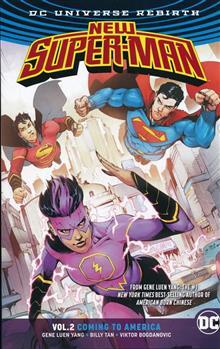 NEW SUPER MAN TP VOL 02 COMING TO AMERICA (REBIRTH)