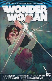 WONDER WOMAN REBIRTH DLX COLL HC BOOK 01