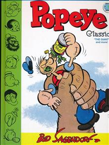 POPEYE CLASSICS HC VOL 11 GIANT & MORE