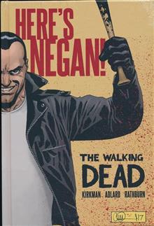 WALKING DEAD HERES NEGAN HC (MR)