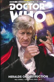 DOCTOR WHO 3RD VOL 01 HERALDS OF DESTRUCTION