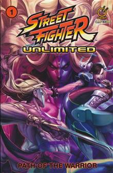 STREET FIGHTER UNLIMITED TP VOL 01