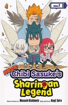 NARUTO CHIBI SASUKE SHARINGAN LEGEND GN VOL 01