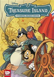DISNEY CLASSICS TREASURE ISLAND STARRING MICKEY MOUSE (C: 1-