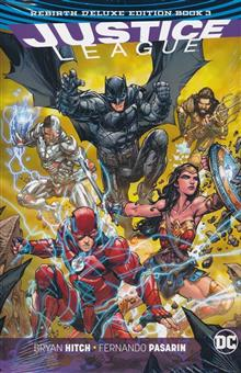 JUSTICE LEAGUE REBIRTH DLX COLL HC BOOK 03