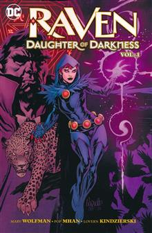 RAVEN DAUGHTER OF DARKNESS TP VOL 01