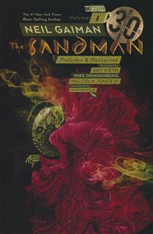 SANDMAN TP VOL 01 PRELUDES & NOCTURNES 30TH ANNIV ED