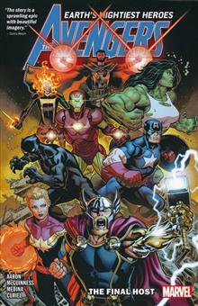 AVENGERS BY JASON AARON TP VOL 01 FINAL HOST MCGUINNESS DM V