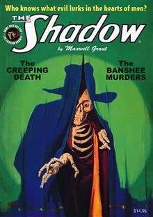 SHADOW DOUBLE NOVEL VOL 134 CREEPING DEATH & BANSHEE MURDERS