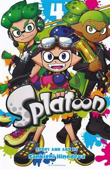 SPLATOON MANGA GN VOL 04