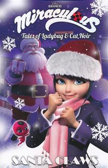 MIRACULOUS TALES OF LADYBUG AND CAT NOIR TP SANTA CLAWS