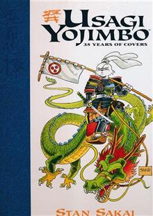 USAGI YOJIMBO 35 YEARS OF COVERS HC