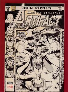 JOHN BYRNES MARVEL CLASSICS ARTIFACT EDITION HC (NET)