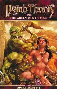 DEJAH THORIS GREEN MEN OF MARS OMNIBUS TP