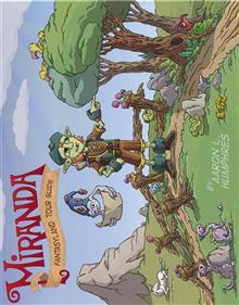 MIRANDA FANTASYLAND TOUR GUIDE HC