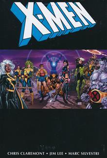 X-MEN BY CHRIS CLAREMONT & JIM LEE OMNIBUS HC VOL 01 DM VAR