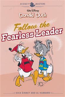 DISNEY MASTERS HC VOL 14 KINNEY HUBBARD DUCK FEARLESS LEADER