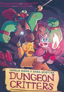 DUNGEON CRITTERS HC GN