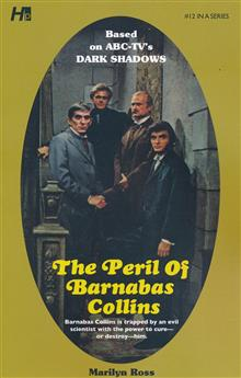 DARK SHADOWS PAPERBACK LIBRARY NOVEL VOL 12 PERIL OF BARNABA