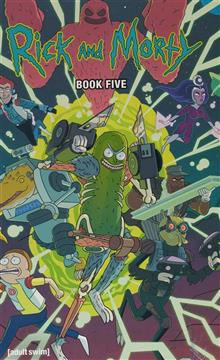 RICK AND MORTY HC BOOK 05 DLX ED (MR)