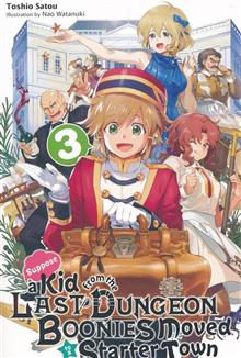 KID FROM DUNGEON BOONIES MOVED STARTER TOWN NOVEL SC VOL 03