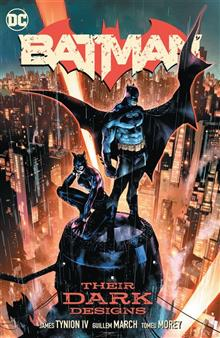 BATMAN VOL 01 THEIR DARK DESIGNS HC