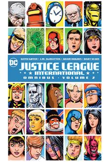 JUSTICE LEAGUE INTERNATIONAL OMNIBUS VOL 02 HC