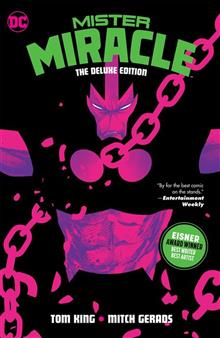MISTER MIRACLE THE DELUXE EDITION HC (MR)