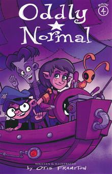 ODDLY NORMAL TP VOL 04 (RES)