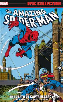 AMAZING SPIDER-MAN EPIC COLL TP DEATH CAPTAIN STACY