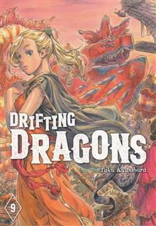 DRIFTING DRAGONS GN VOL 09 (RES)