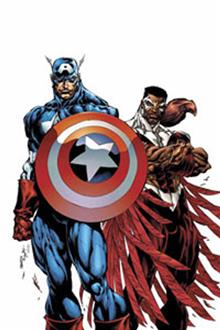 CAPTAIN AMERICA FALCON VOL 1 TWO AMERICAS TP