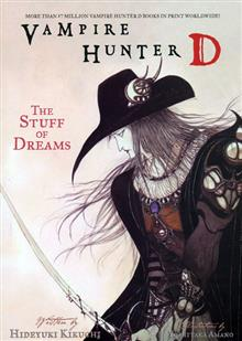 VAMPIRE HUNTER D VOL 5 STUFF OF DREAMS NOVEL (MR)