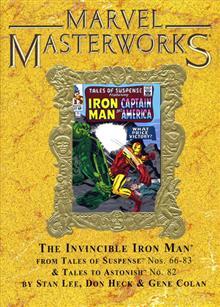 MARVEL MASTERWORKS INVINCIBLE IRON MAN VOL 3 HC VAR
