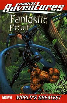 MARVEL ADVENTURES FANTASTIC FOUR VOL 3 TP DIGEST