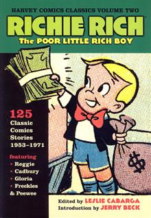 HARVEY COMICS CLASSICS VOL 2 RICHIE RICH TP
