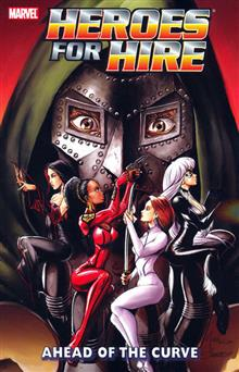 HEROES FOR HIRE VOL 2 AHEAD OF THE CURVE TP