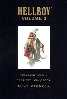HELLBOY LIBRARY ED HC VOL 02 CHAINED COFFIN & OTHERS (C: 0-1