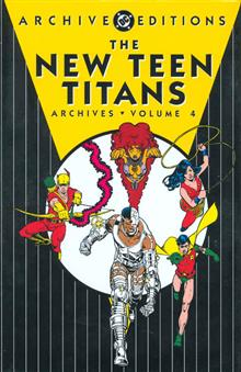 NEW TEEN TITANS ARCHIVES HC VOL 04