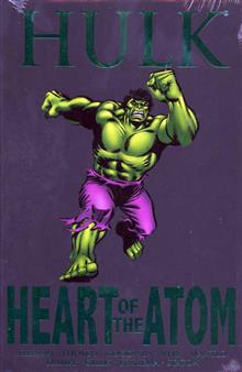 HULK HEART OF THE ATOM PREM HC