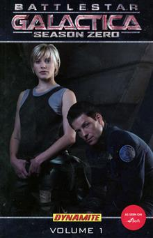 NEW BATTLESTAR GALACTICA SEASON ZERO TP VOL 01 PHOTO COVER