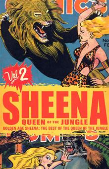 GOLDEN AGE SHEENA QUEEN OF THE JUNGLE VOL 2 TP