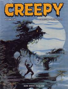 CREEPY ARCHIVES VOL 5 HC