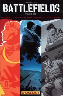 GARTH ENNIS BATTLEFIELDS VOL 1 HC