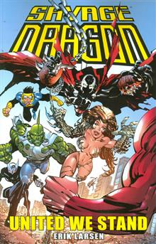 SAVAGE DRAGON UNITED WE STAND TP